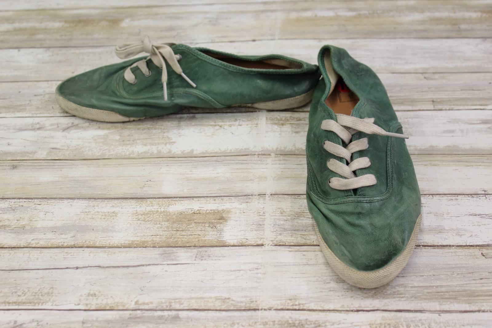 **Frye Melanie Low Sneakers, Women's Size 10 M, Green