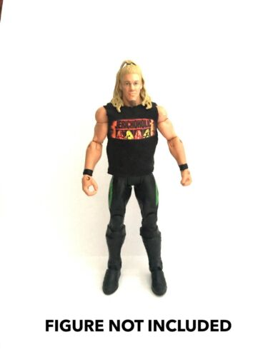 WWE CHRIS JERICHO /'jerichoholic/' Maglietta Personalizzata per Mattel figure.