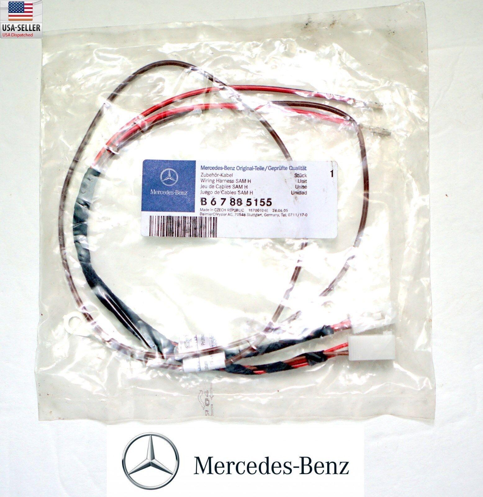 Mercedes B67885155 Sam H Wiring Harness Bluetooth Ebay Ats Norton Secured Powered By Verisign