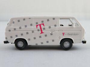 Wiking-290-VW-T3-Transporter-1979-034-Telekom-034-in-weiss-1-87-H0-NEU-unbespielt