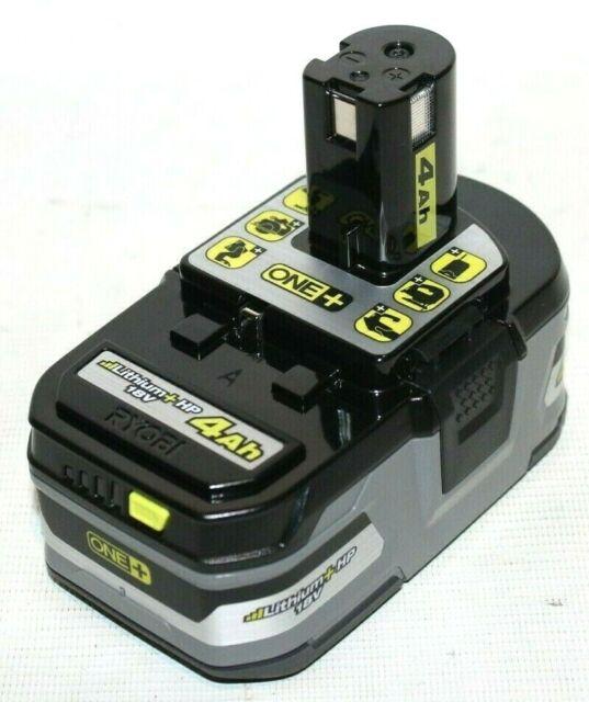 Ryobi P192 One+ 18V 4Ah Extended Capacity Lithium+ HP Battery Pack - New!