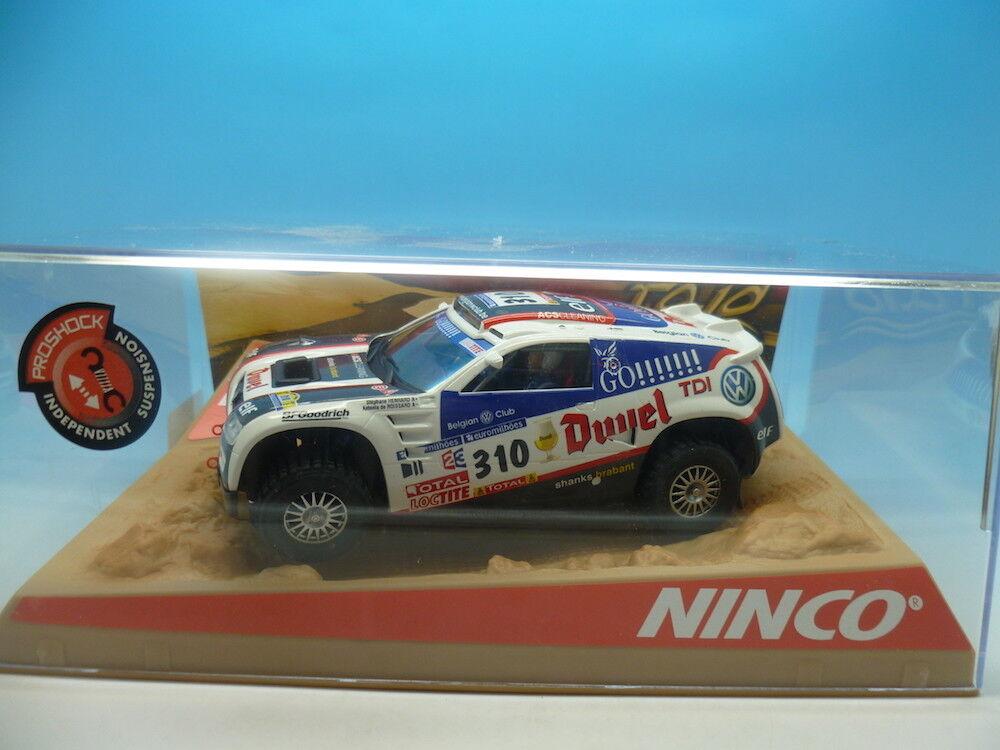 Ninco 50381 Volkswagen Touareg Dakar 06 Duvel, mint unused