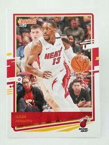 Panini Donruss 2020-21 N16 NBA trading card #14 Miami Heat Bam Adebayo