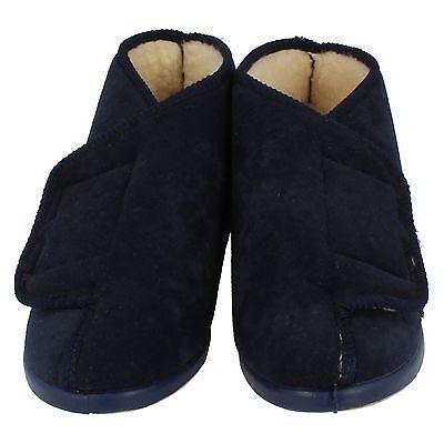 Damen Lady Love marineblau Hausschuhe Stiefel - Edith - größe EU 36