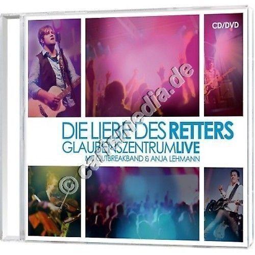 CD & DVD: DIE LIEBE DES RETTERS - Lobpreis Glaubenszentrum - Outbreakband °CM°