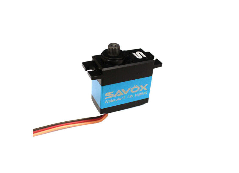 Savox Waterproof Premium Digital Servo .10 111.1@6.0V SW1250MG