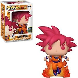 Funko Pop! Animation Dragon Ball Super SSG Goku Summer Convention Exclusive Figu
