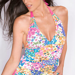 Pour-Moi-Hawaii-Tankini-Top-White-Multi-Print-8-10-12-14-16-18-4505