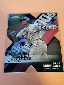 Alex Rodriguez 2020 Topps Chrome Decade of Dominance Die Cut #DOD-13  Rangers