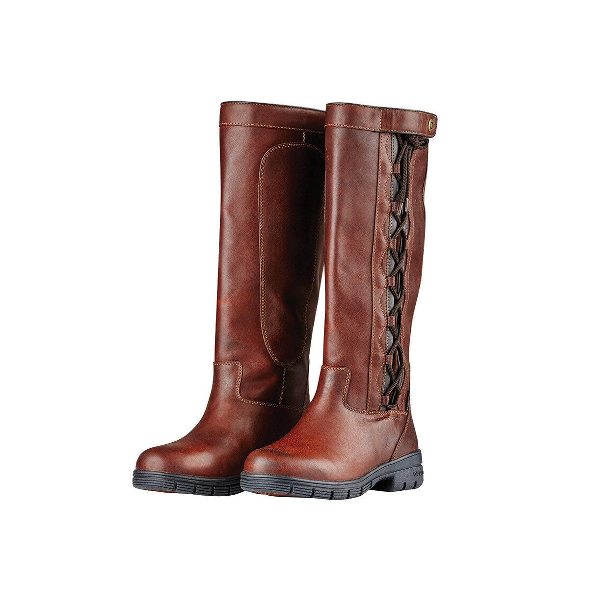 NEW Dublin Pinnacle Grain Boots - Red Brown - Various Sizes