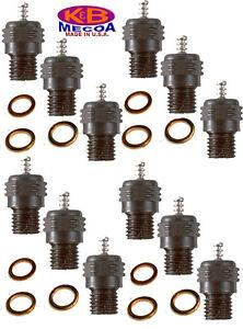 K&B 7310 LONG REACH HEAVY DUTY GLOW PLUGS for Model Engines QTY of 12