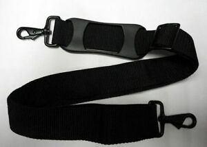 Black-Replacement-Shoulder-Strap-1-1-2-034-x-51-034-LG-Adjustable-for-Luggage-Duffle