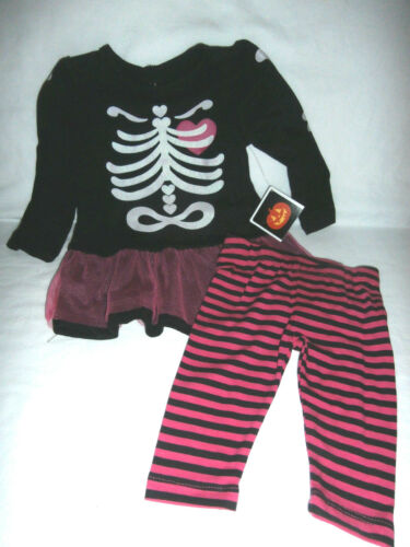 Baby Girls Halloween Costume Dress w// Leggins You Pick Princess Skeleton NWT