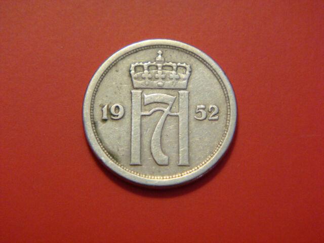 Norway 25 Ore, 1952