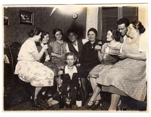 STUTTGART-FEUERBACH Geburtstagsfeier 1927 * Foto - keine AK