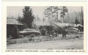 Siskiyou-Motel-Coffee-Shop-California-on-Highway-199-Hudson-Car