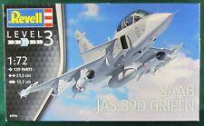 REVELL 03956 échelle 1:72 SAAB JAS-39D Gripen Twin Seater Model Kit