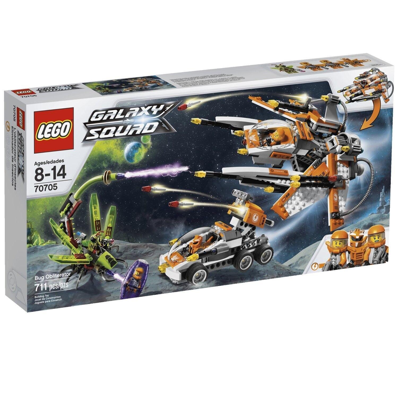 LEGO GALAXY SQUAD BUG OBLITERATOR (70705) - RETIRED - NEW IN FACTORY SEALED BOX
