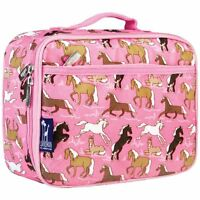Wildkin Horses In Pink Lunch Box , New, Free Shipping on sale