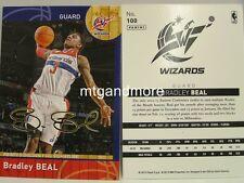 Panini NBA (Adrenalyn XL) 2013/2014 - #100 Bradley Beal - Golden Foil Signature