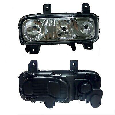 H7-H1// mit elektr. Leuchtweitenregulierung Scheinwerfer Links pf.MB Actros MP3