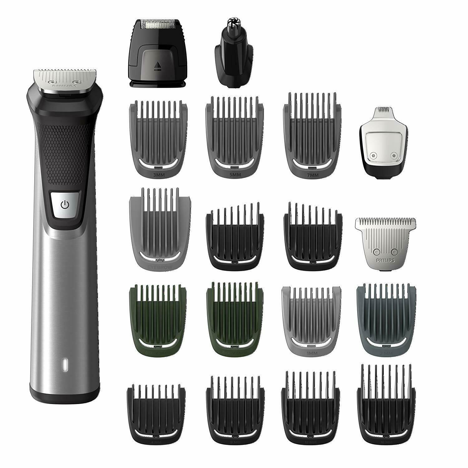 Philips Groomer 7000 Wet Dry With 19 Trimming Accessories Series