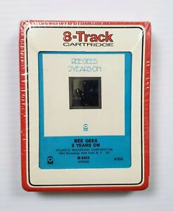 NEW-Bee-Gees-2-Years-On-8-track-Cartridge-ATCO-Atlantic-Recording-M8353-S104245