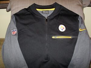 8efbc943cbcf Image is loading NFL-Pittsburgh-Steelers-Nike-Dri-Fit-Coaches-Circuit-