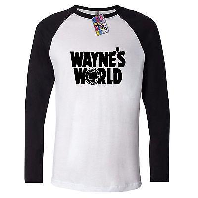 WAYNE/'S WORLD HOODIE sweater jumper SHIRT PARTY ON WAYNE STOCK 90/'s retro TOP