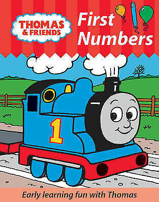 """1 of 1 - """"VERY GOOD"""" Thomas and Friends: First Numbers (Dean Character Workbooks), , Book"""