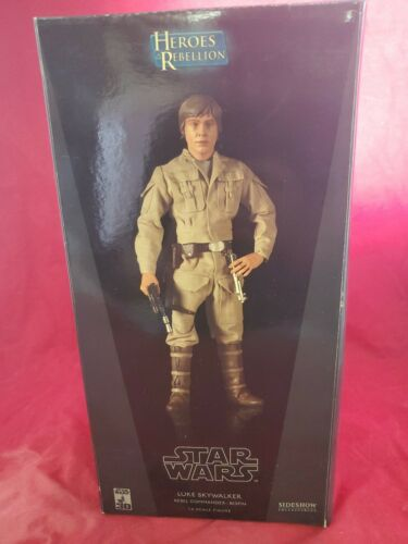 Star Wars Heroes Of The Rebellion 1:6 Luke Skywalker Bespin lm 2006 Sideshow