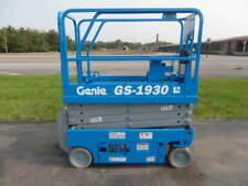 2015 Genie Gs1930 19 Electric Slab Scissor Lift 19ft Platform Lift Man Lift