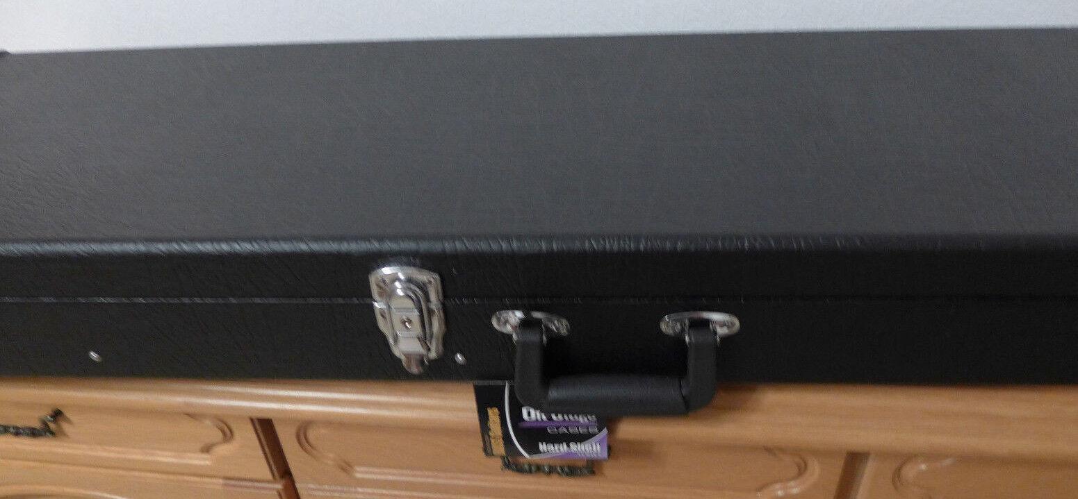 E-Bass Koffer schwarz, instrumentenkoffer,  gitarrenkoffer, hard case 1,20m lang