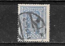 AUSTRIA AUSTRIAN SC#286 1923 POSTALLY USED 3000 KRONEN LABOR & INDUSTY STAMP