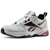 Reebok Royal Trainer Mt Memory Tech White Leather Mens Classic