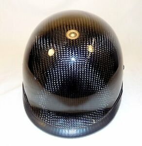 D.O.T Chrome Shorty Motorcycle Helmet