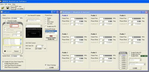 AD9910 Module 1G DDS Development Board RF signal source support offical software