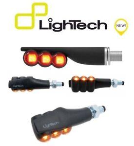 LIGHTECH-COPPIA-INDICATORI-FRECCE-LED-FRE929NER-UNIVERSALI-OMOLOGATE-MOTO