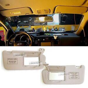 OEM Genuine Front RH LH Inside Sun Visor 2p For Kia  Pride ; Rio 2006~2010