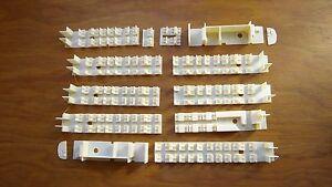 5 Aménagements intérieurs VERSION MODELISTE pour TURBOTRAIN 5 éléments RTG JOUEF