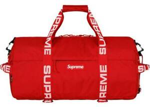 bdf7421a NEW Supreme SS18 Cordura Duffle Bag 36L Red - IN HAND 100% Authentic ...