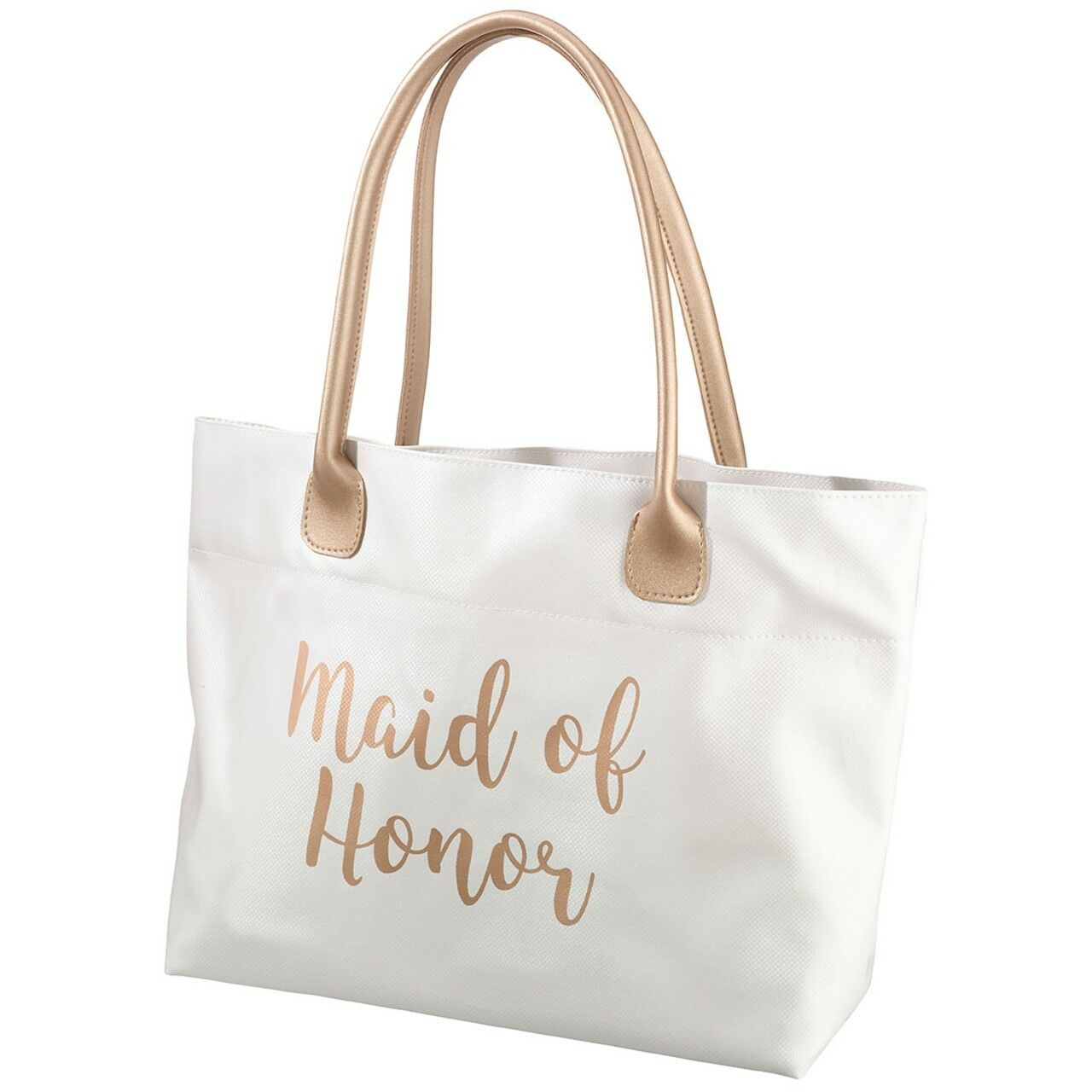 Bride Tote Bag Bridal Party Gifts for Wedding Day Handbags Gold Accessories