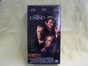 CASINO-VHS-2-TAPE-SET-FACTORY-SEALED-DENIRO-STONE-PESCI