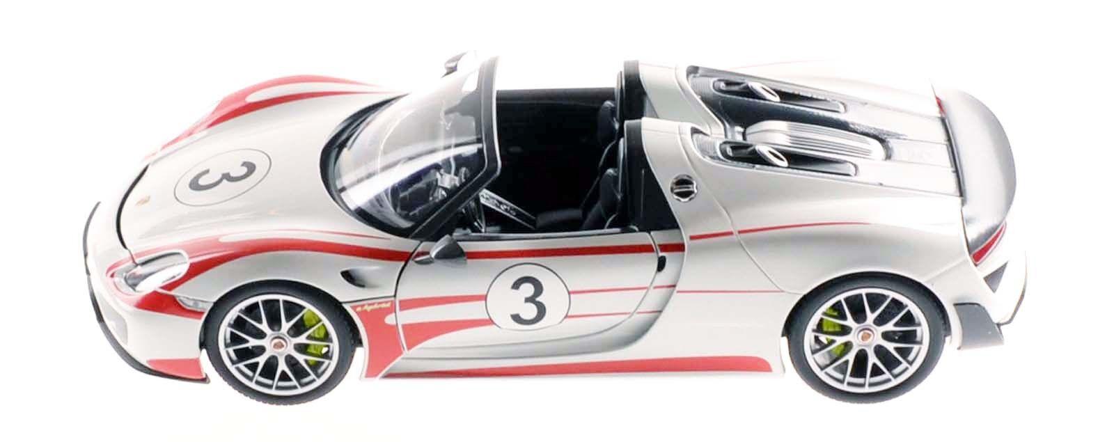 MINICHAMPS 110062441 Porsche 918 Spyder 2013 Weissach