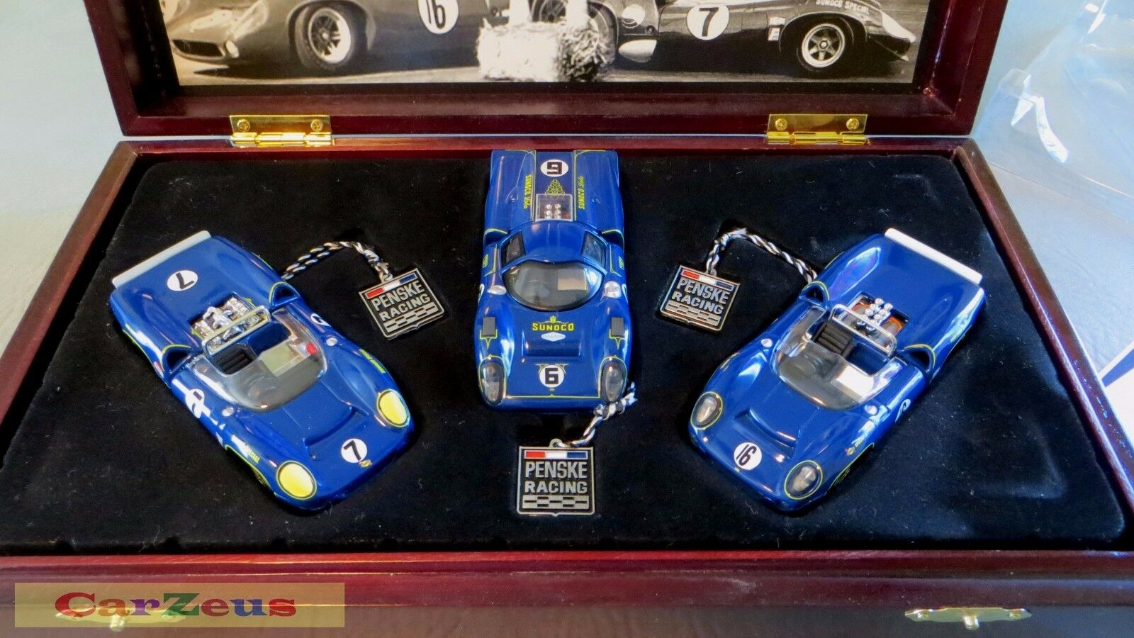 1 43 GMP, GMP, GMP, Sunoco T70 Lola 3 Car Set, Penske Racing 531511