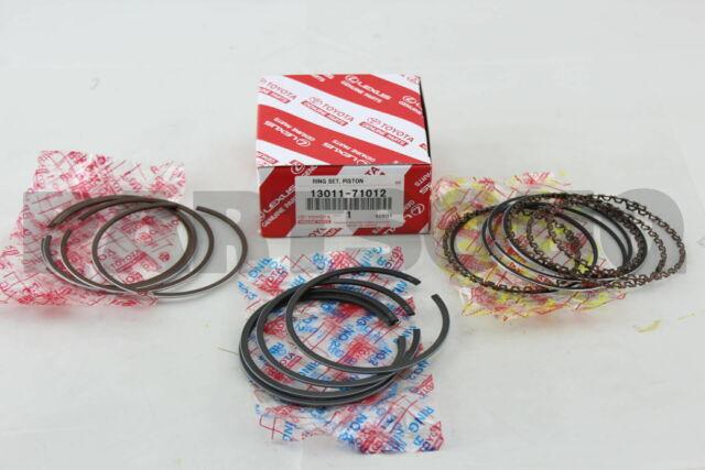 1301171012 Genuine Toyota Ring Set  Piston 13011