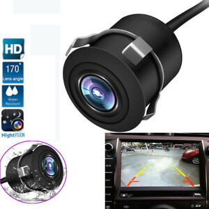 Useful 12v 170° Cmos Waterproof Auto Reversing View Parking Backup Hd Camera Kit White Always Buy Good Exterior Mouldings & Trim