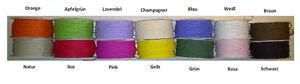 (0,39 €/m) papel alambre 2mm 10m papel cordel basteldraht alambre canutillos encuadernar  </span>
