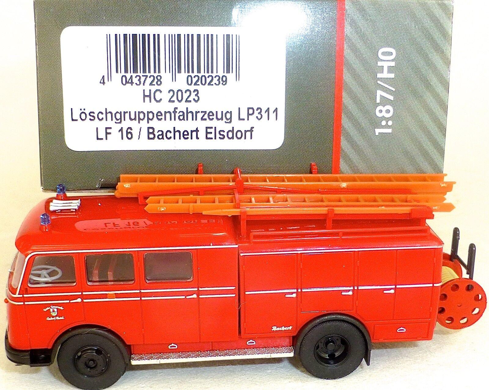 Véhicule de lutte contre L'incendie LP311 LF16 Bachert JÉRUSALEM HEICO HC2023 µ
