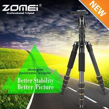 ZOMEI Q666 Aluminium Travel Tripod Monopod Ball Head for Canon Nikon SLR Ca